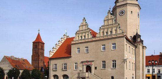 ratusz w Prusicach