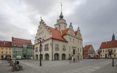 Prusice Ratusz Rynek